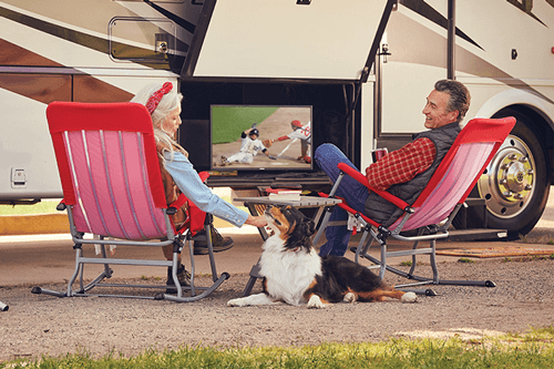 Watch DISH TV Outdoors in the RV- Belle Fourche, SD - Prime Entertainment - DISH Authorized Retailer